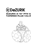 DeZURIK - Model PTW - Balancing Plug Valves - Manual
