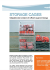 Storage Cage Brochure (PDF 882 KB)