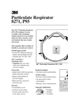 Particulate Respirator 8271, P95 Technical Data Sheet