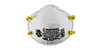 3M - Model 8210Plus, N95 160 EA/Case - Particulate Respirator