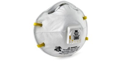 3M - Model 8210V, N95 Respiratory Protection 80 each/ca - Particulate Respirator