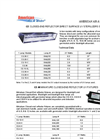 Closed End Germicidal UV Surface Sterilizers - Brochure