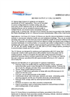 Cooling Coils Disinfection UV Systems - Brochure