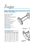 Model UFSS Single-Tube Armored Flow Indicators Brochure