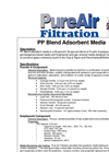 PureAir - Model PP - Adsorbent Air Filtration Media Brochure