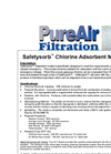 PureAir Safetysorb - Chlorine Adsorbent Media Datasheet