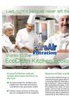EcoClean - Model EC - Kitchen Exhaust Ecology Systems - Brochure