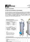 Technical Specification Sheets (Non Code vessels) - EF series (High flow) Brochure (PDF 251 KB)
