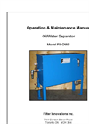 Operation Manuals FII-OWS-CS Brochure (PDF 354 KB)