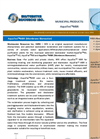 WRI - AquaTex™ MBR - Advanced Water Purification (AWP) Plant - Brochure
