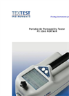 PORTAIR - FX 3360 - Portable Air Permeability and Thickness Tester Brochure