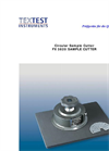 FX 3820 SAMPLE CUTTER Leaflet
