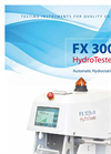 HYDROTESTER IV - FX 3000 - Automatic Hydrostatic Head Tester Brochure
