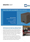 IndMaid - Model M36 Series - Ducted Packaged Industrial Dust Collector - Brochure