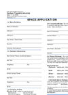 Exhibitor Application/Product Service Form