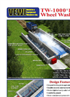 VEWI - Model TW-1000 - PLUS Patented Wheel Wash Unit - Brochure