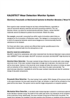 KALDETECT Wear Detection Monitor System Brochure