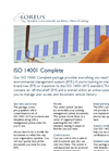 Version ISO 14001 - Environmental Management Software Brochure