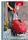 Bit - Walk Behind Scrubber Drier for Small Areas Brochure
