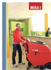Mega - I - Walk Behind Scrubber Driers for Medium to Large Area - Brochure