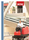 Metro - Scrubber Drier Machines for Big Areas - Brochure