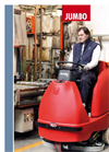 Jumbo - Compact Scrubbing Drier Machine for Big Areas Brochure