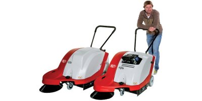 Alfa - Walk Behind Sweeper Machine for Small Areas