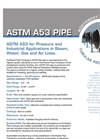 Model ASME - Fabricated Pipe Brochure