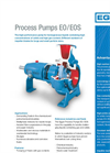 EO / EOS - Process Pumps Brochure