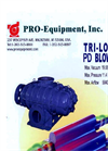 Pro-Equipment - Model Tri-Lobe PD - Blower Datasheet