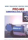 Model PRO-MIX - Submersible Mixer Datasheet