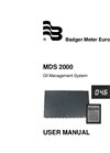 Badger Meter - MDS 2000 - Manual