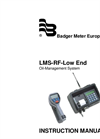 Badger Meter - LMS-RF - Manual Low End