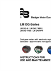 Badger Meter - LM OG-Series- Manual
