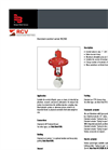 Badger Meter - RC250 - Barstock Valve with NPT Internal Threads - Datasheet