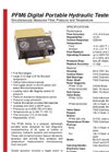 Flo-tech - PFM6 - Digital Portable Hydraulic Tester - Datasheet