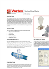 Vortex - Model RVL series - In-Line Style Flow Meter Brochure