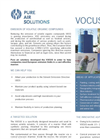 VOCUS - Emission of Volatile Organic Compounds (VOC) Control System - Brochure