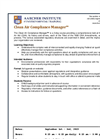 Clean Air Compliance Manager Sep 1-3 2015 Brochure