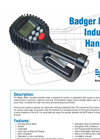 Badger - Industrial Handheld Meter Technical Datasheet