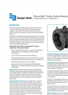Recordall Turbo Series Meters 6 and 20 Datasheet