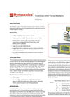 TFX Ultra - Transit Time Flow Meters Datasheet