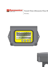TFX Ultra - Transit Time Flow Meters Manual