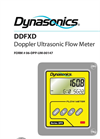 Dynasonics - Model DFX - Doppler Ultrasonic Flow Meter User Manual