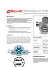 Blancett 900 Flow Meters Product Data Sheet