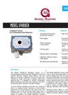Bernt - Model S4000CH - Intelligent Sensor for Combustible Gas Detection - Brochure