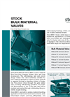 Stock Bulk Material Valves (US Version) - Data Sheet
