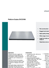 Platform Scales DVC/DVM - Data Sheet