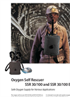 SSR - 30/100 and SSR 30/100 B - Oxygen Self Rescuer Brochure