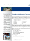Shock and Vibration Testing  - Brochure
